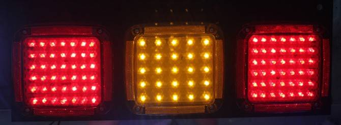 24V truck trailer led rear light