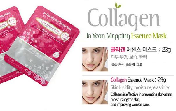 Collagen Essence Mask 23g, Face Mask, Mask pack