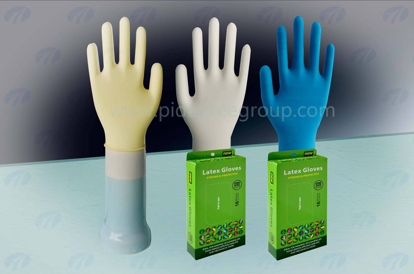 powder free latex gloves wholesale