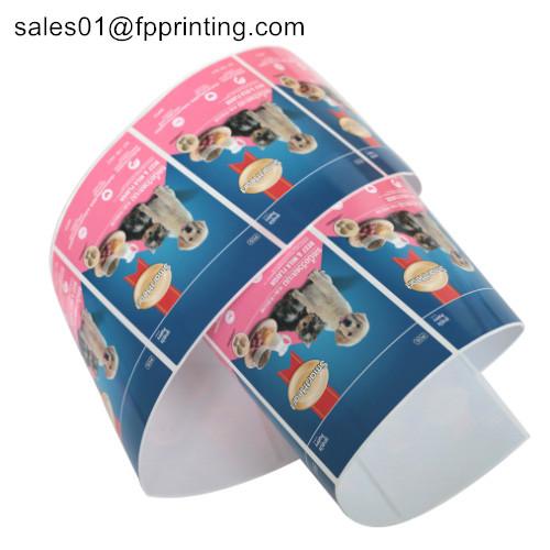 Customise PET Adhesive Label Sticker / PVC label/ PE label / PE label