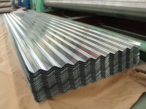 Cheap Price SGCC Zinc Corrugated Galvanized Waved Steel Roofing Sheet