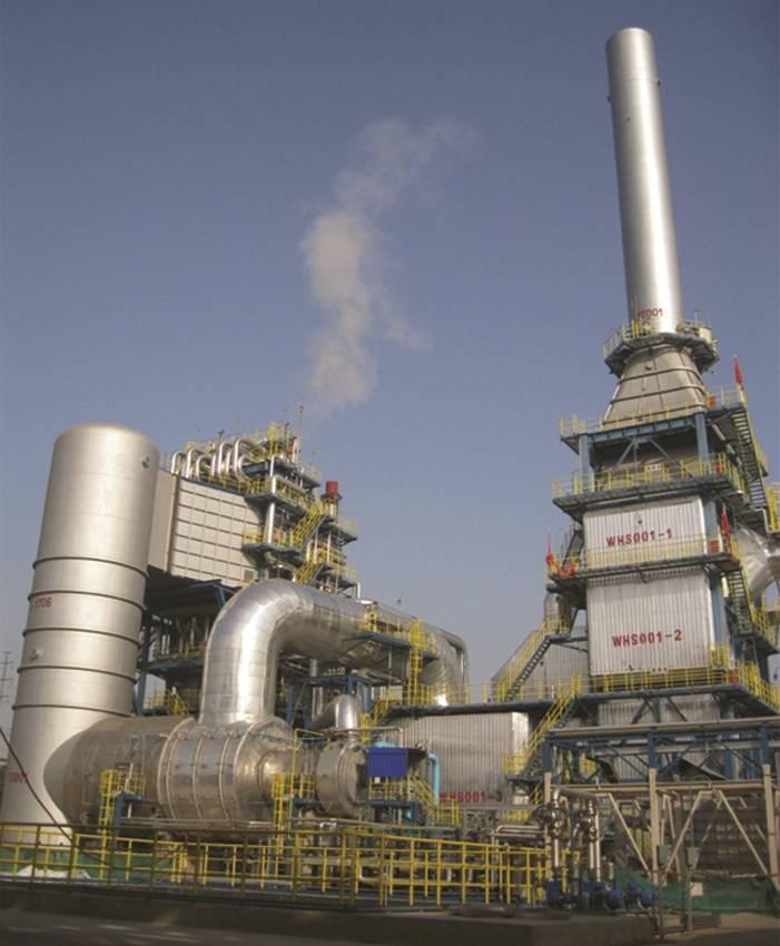 Waste Gas & Liquid Thermal Oxidizer