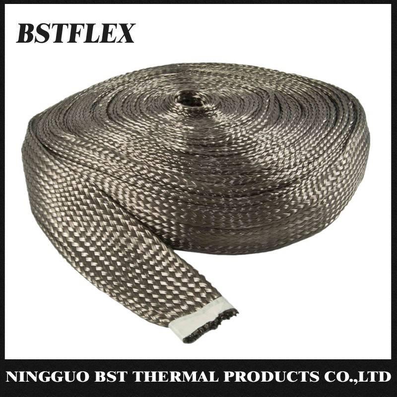 BST-BS braided basalt fiber sleeve