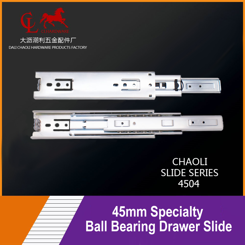 45mm Specialty Ball Bearing Drawer Slide 4504