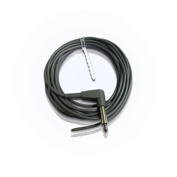 Reusable esophageal/rectal temperature sensor probe