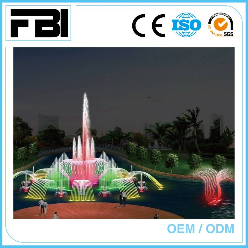 china manufacturer, customized music fountain, free fountain design