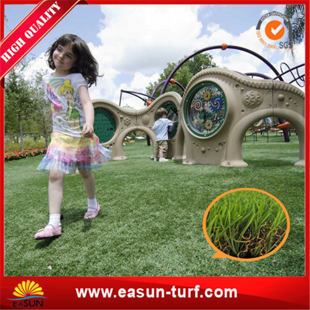 China manufacturer anti-UV landscape synthetic grass turf-ML