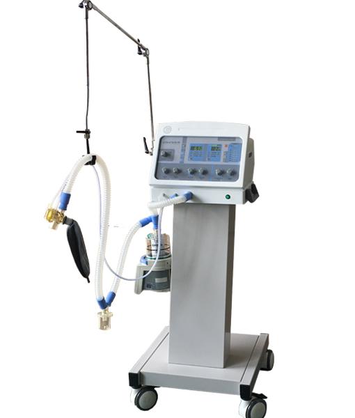 Cheap medical emergency ICU breathing machine with CE JIXI-H-100