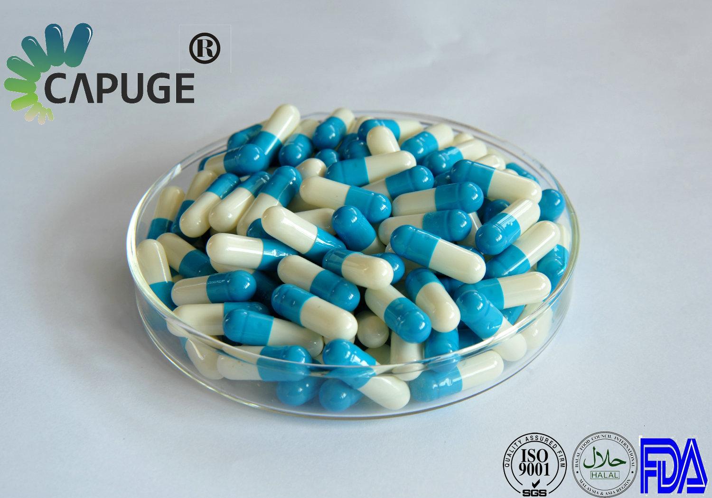Halal Bulk Hard Empty Gelatin Capsule Medicine 00 Blue