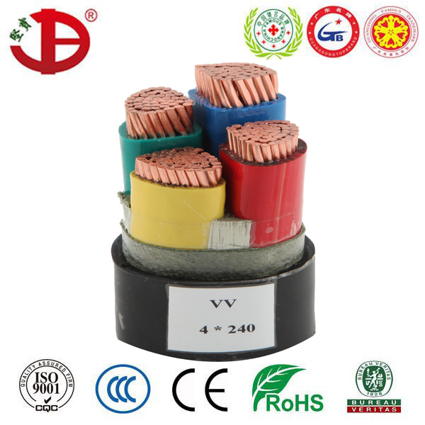 NYY 0.6/1kV PVC Insulated and Sheathed Electrical Power Cable
