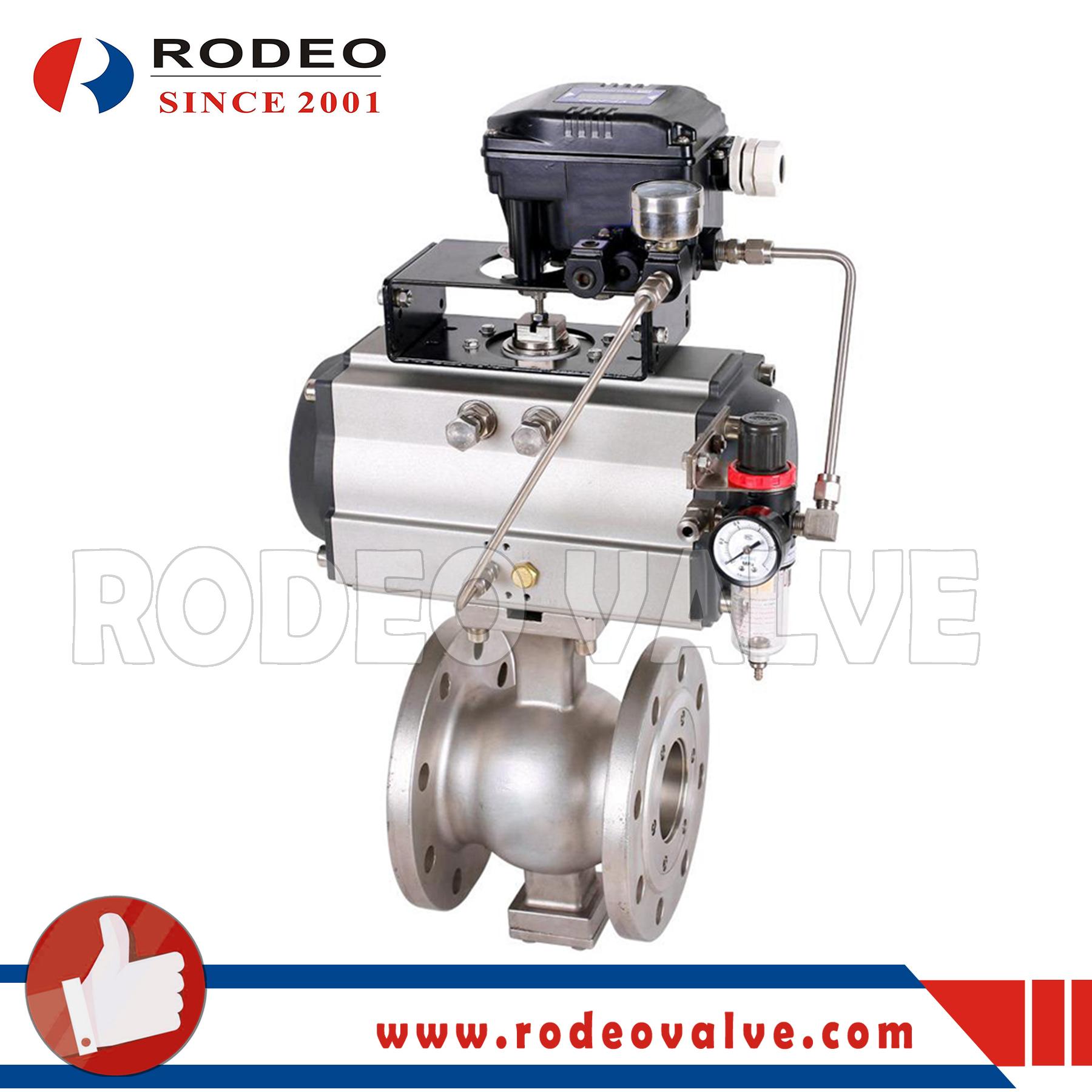 V-type ball valve