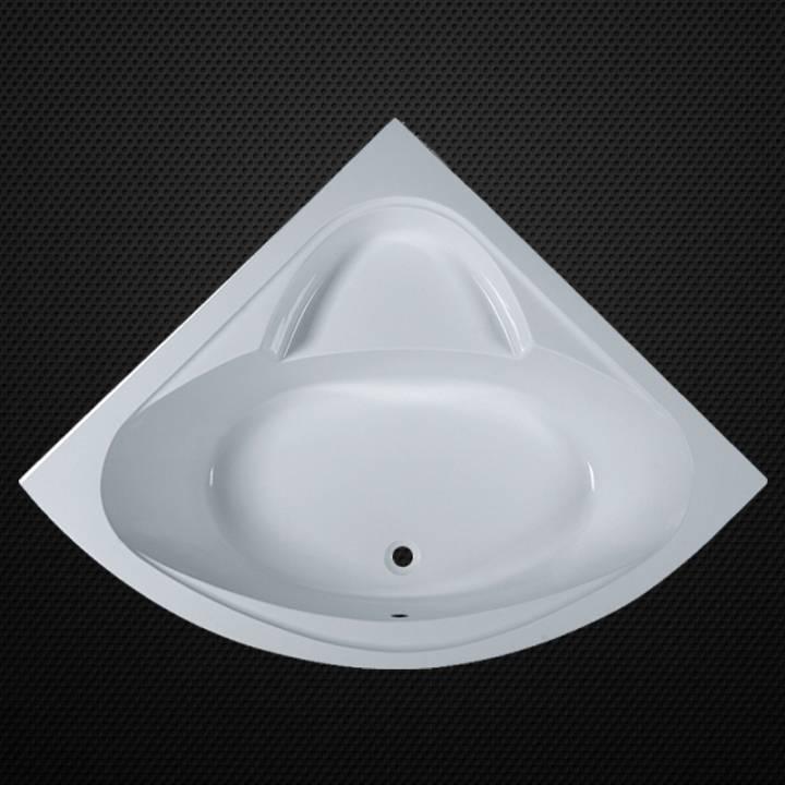 Acrylic triangle bathtub