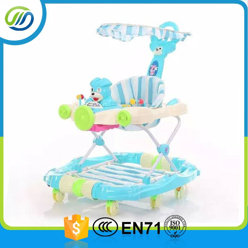 Rocking horse cartoon baby walker