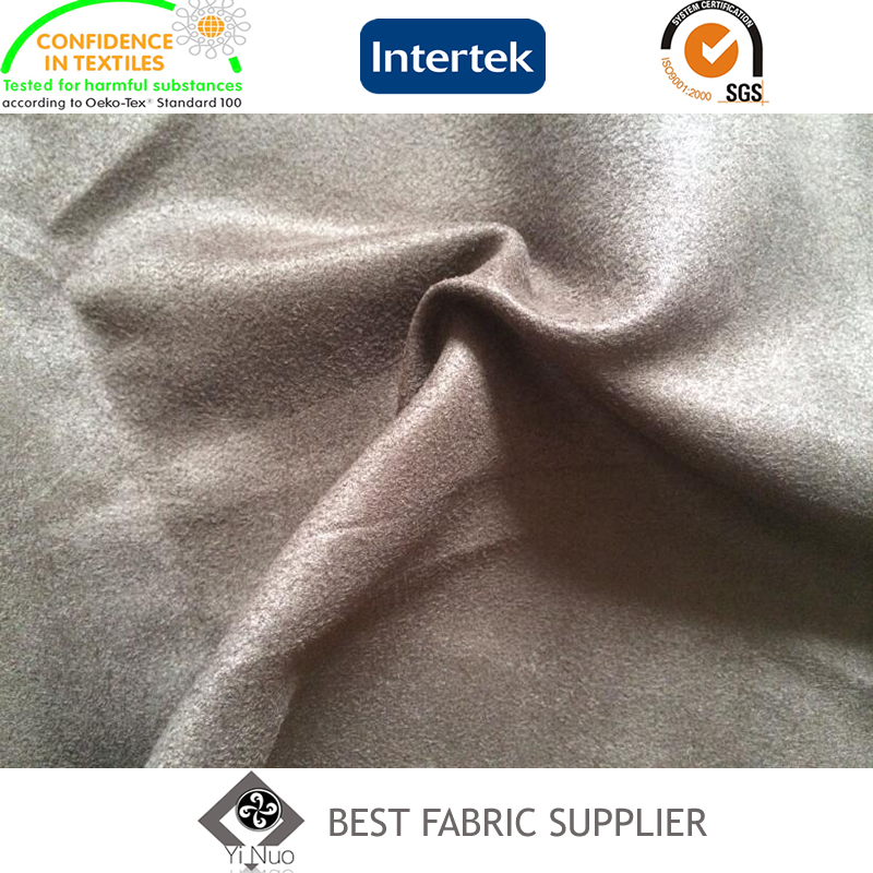 100% Polyester Woven Suede Fabric Supplier