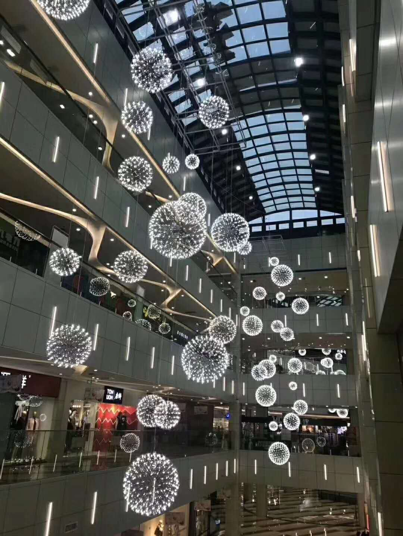 custom made modern design lighting for commercial project