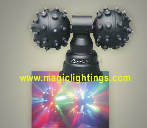 Double Head Roller led disco ball light(MagicLite) M-A002