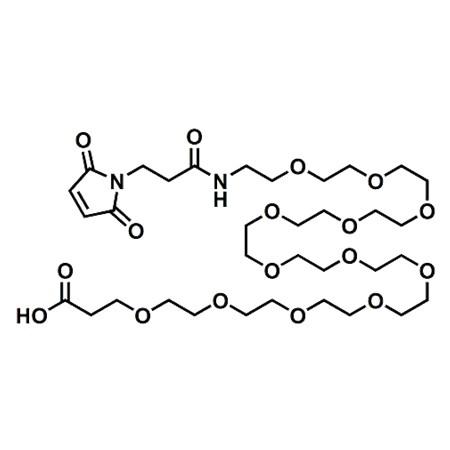 Maleimide-PEG12-propionic acid;Maleimide-NH-PEG12-CH2CH2COOH;CAS#871133-36-7