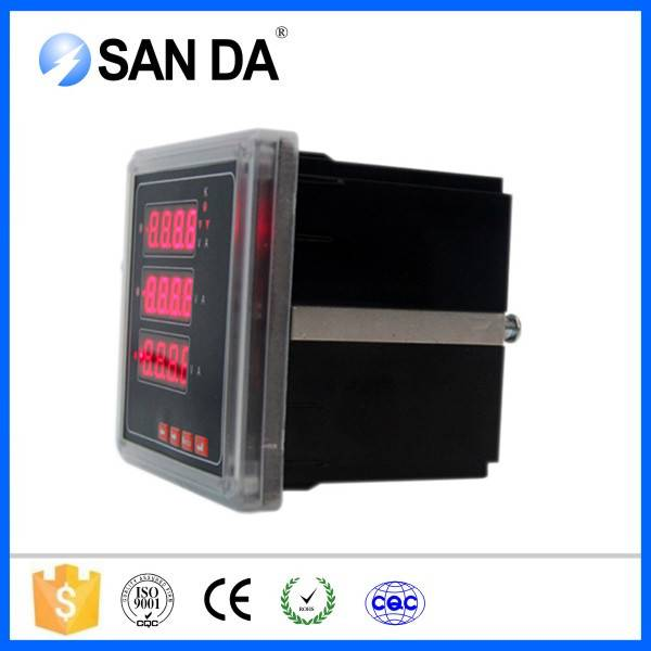 Digital Panel Amperemeter And Voltmeter 0-100V DC Voltage