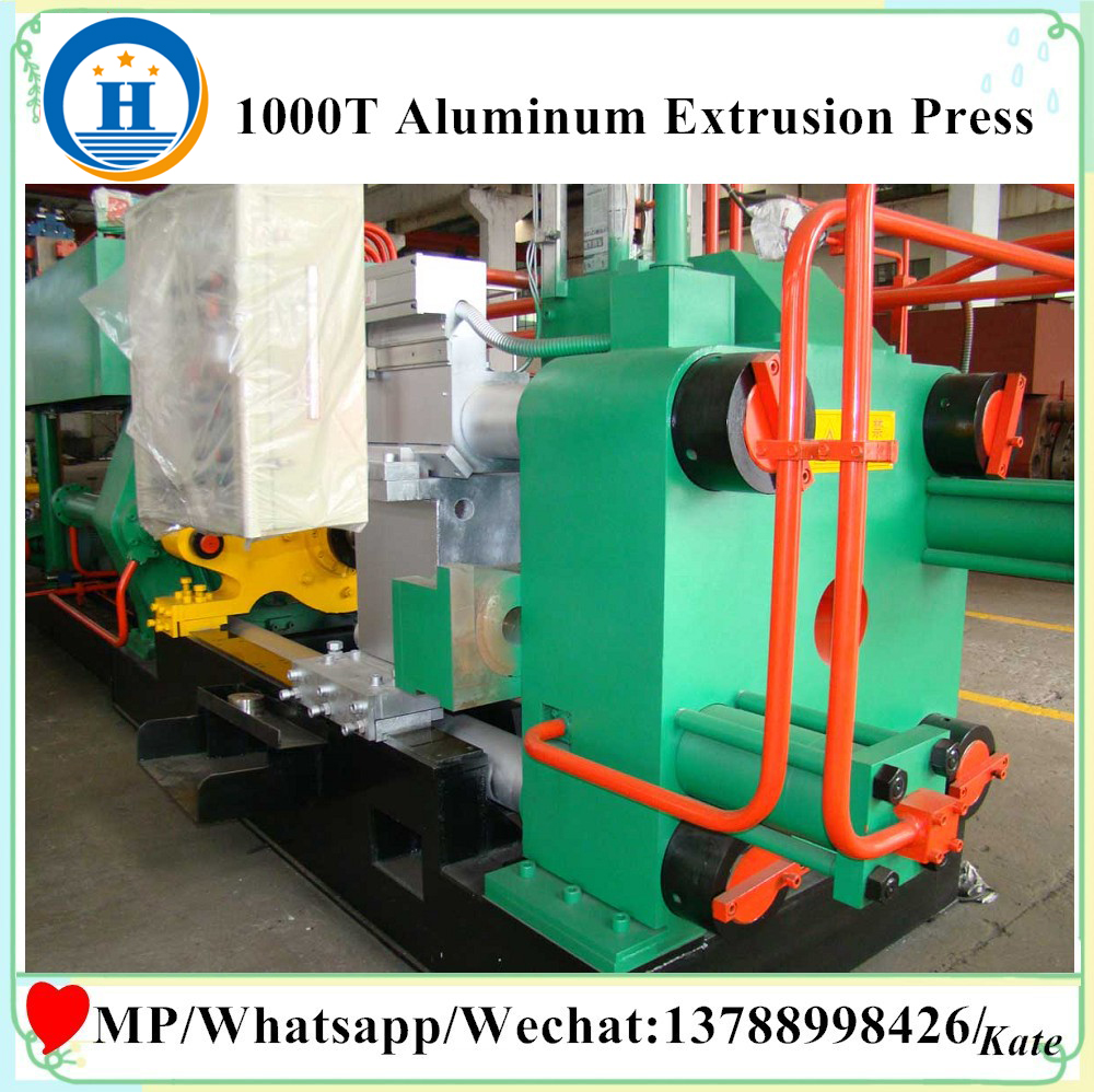 tube extrusion machine supplier aluminum billet equipment