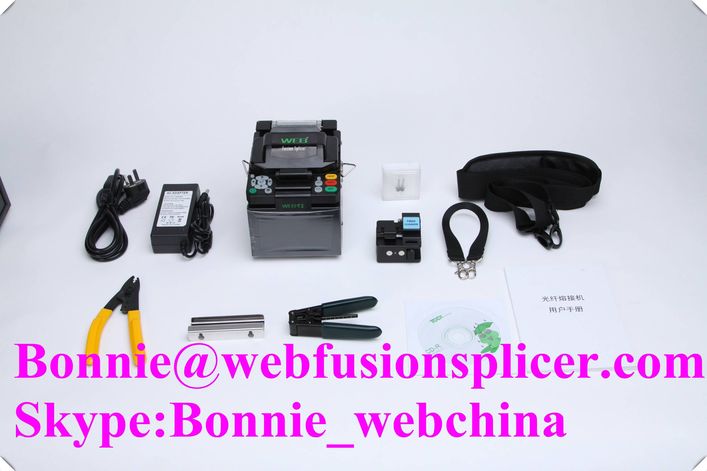 Very useful good quality Fiber Optical cable Fusion Splicer