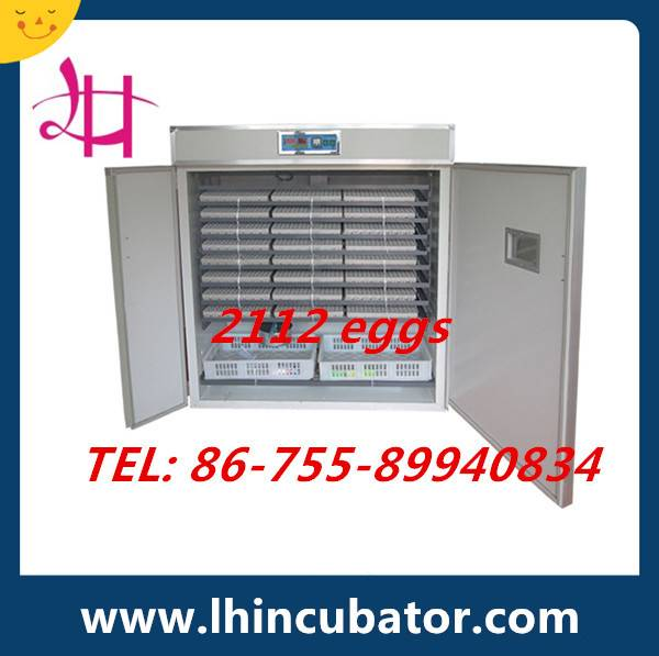 Best Price Fully Automatic Chicken Egg Incubator Holding 2000 Eggs Incubator (lh-12)