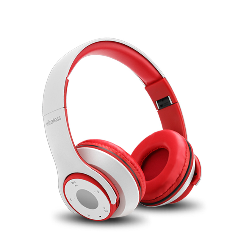 Over Ear Rechargeable Wireless Bluetooth Foldable Headphones with Mic