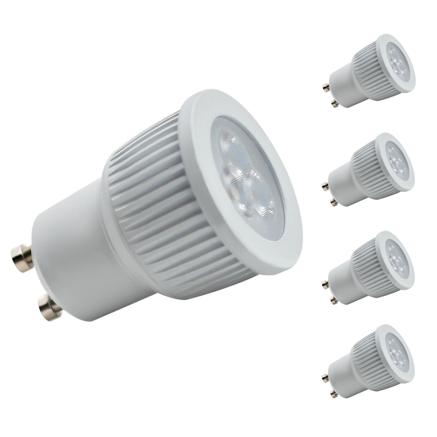 MR11 GU10 LED Bulb for Track Light, 35W Equivalent, Daylight White 6000K, 4-Pack