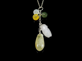 Melon Jade Jadeite Necklace
