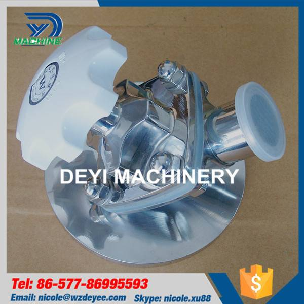 Sanitary Stainless Steel Tank Bottom Diaphragm Valve