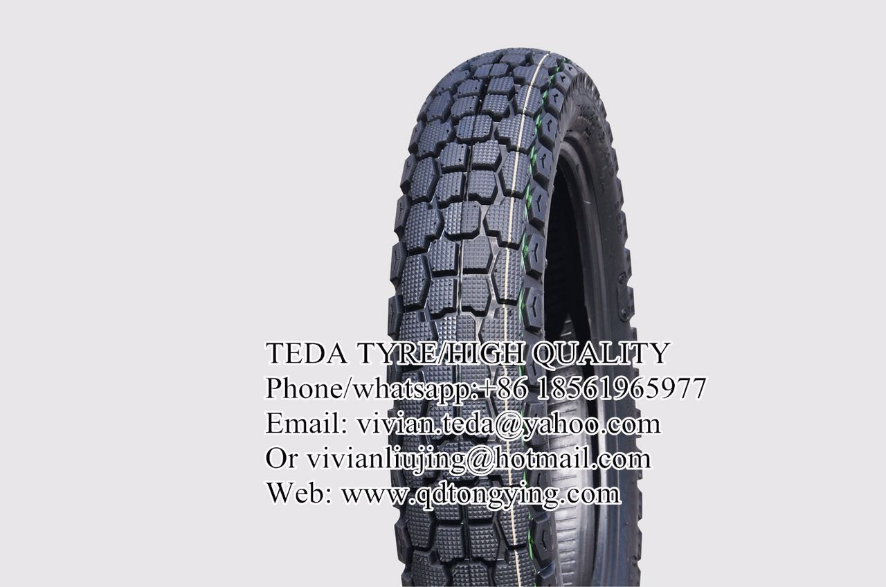 Tube motorcycle tires