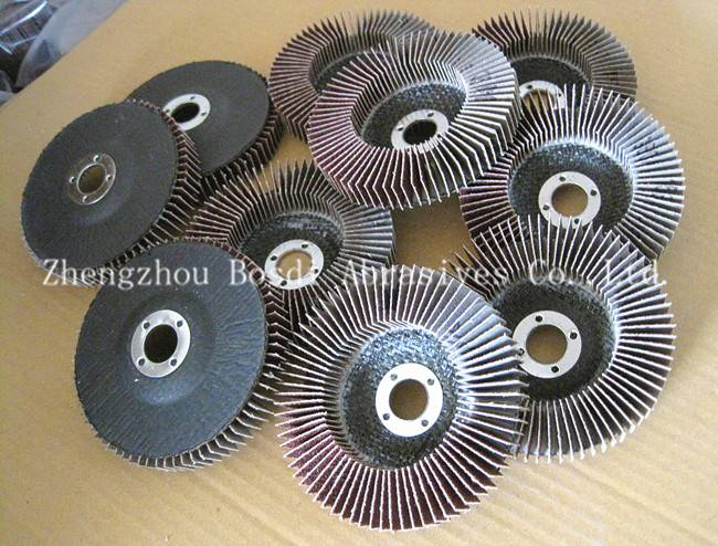 Upright Flap Disc Convex 100-16mm 90mm backing
