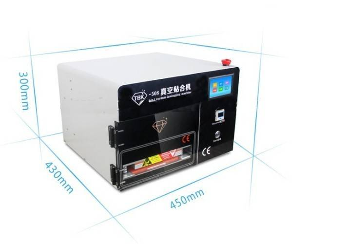 Hot sell 5 in 1 vacuum laminating machine for lcd pressure screen machine built-in air pump vacuum o