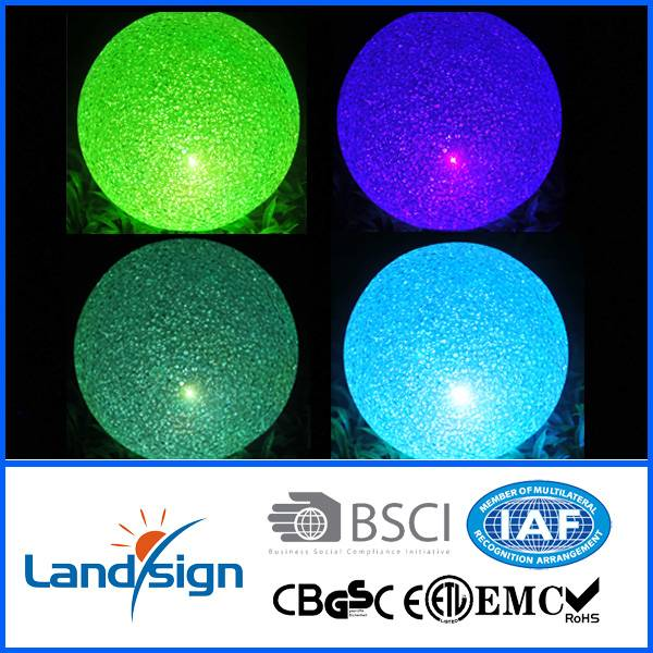Oem led light manufacture 2016 new product XLTD-1516 led color changing floating balls