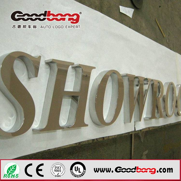 Anti-wind strong sound thin vacuum hotsale alphabet letter led signage,flexible parts