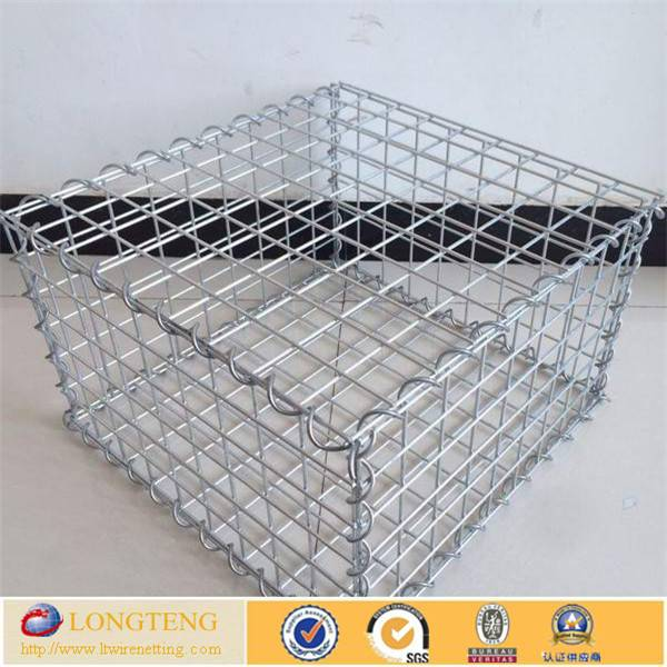 Hot sale welded gabion mesh/gabion stone basket/gabion wire mesh box