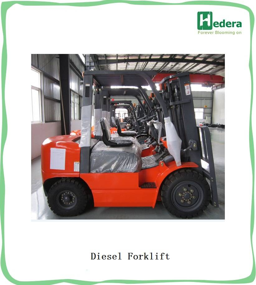 Diesel Forklift Truck from 1.5T-11.5Ton with ISUZU engine