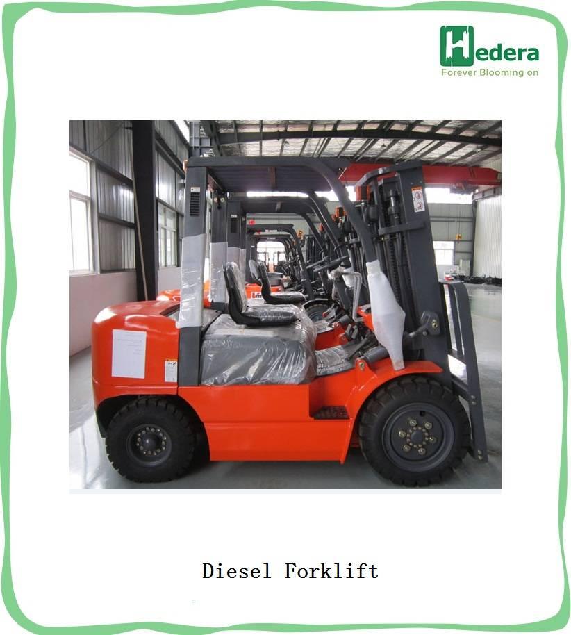 Diesel Forklift Truck from 1.5T-11.5Ton with ISUZU engine