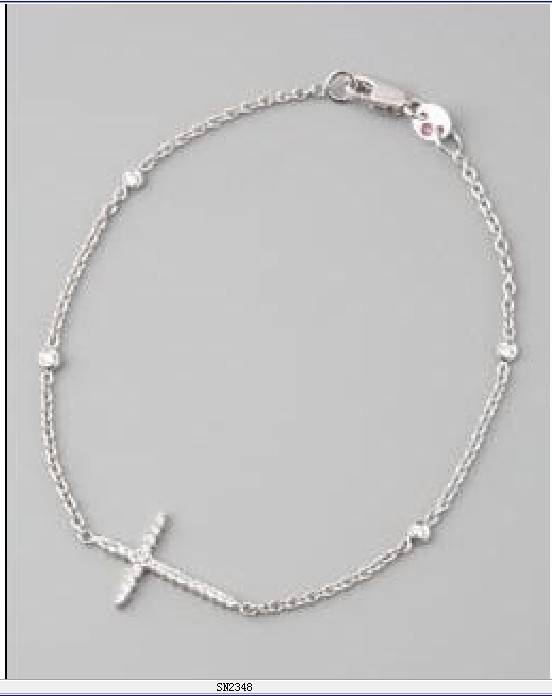 Childrens Small Jewelry Light Weight Silver Bracelets