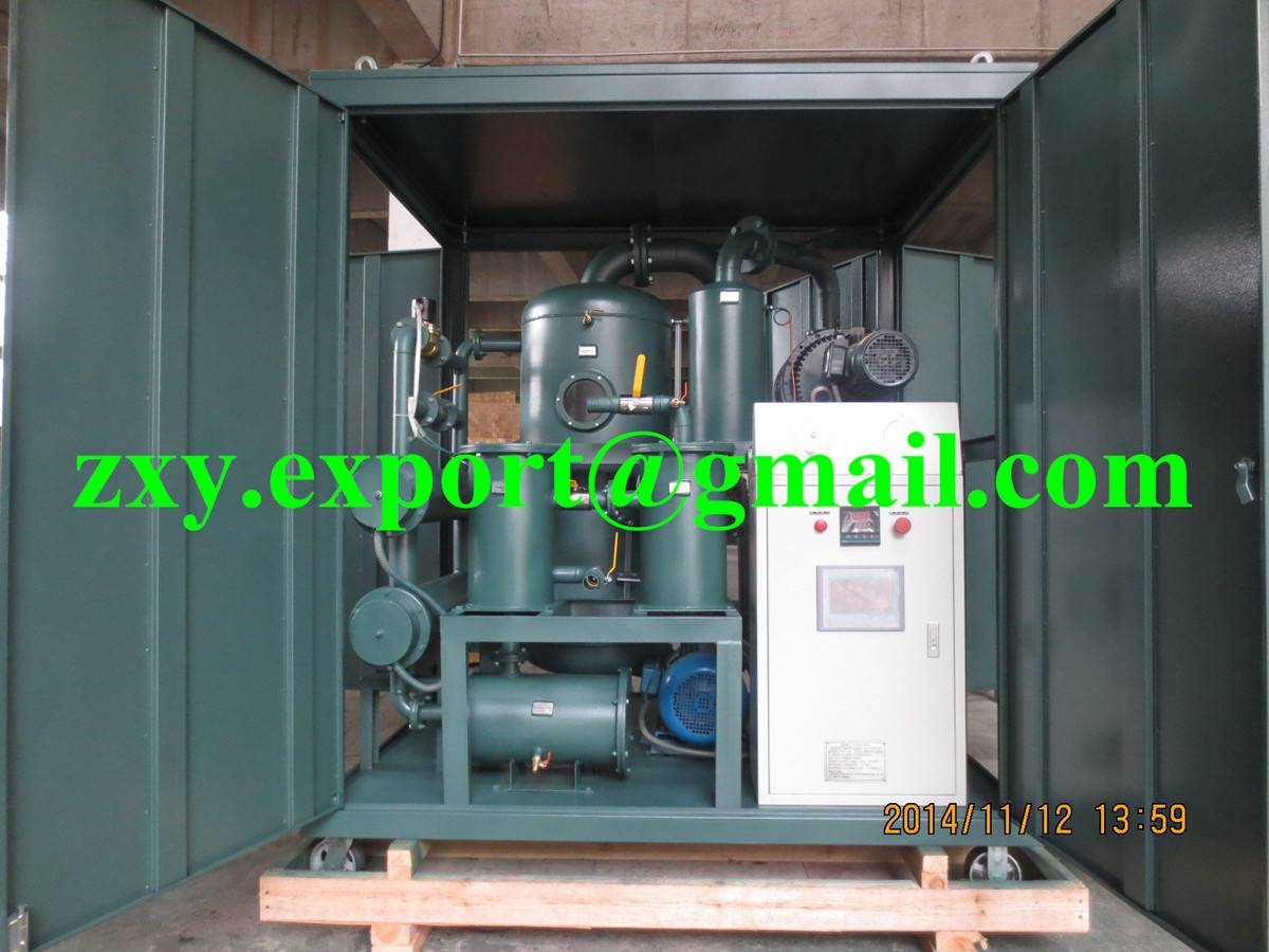 Double Stage High Vacuum Transformer Oil Purifier