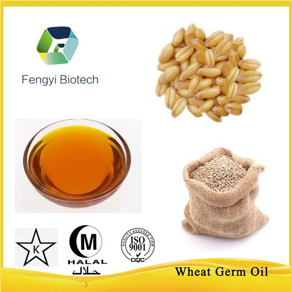Cosmetic material--Wheat germ oil for skincare products