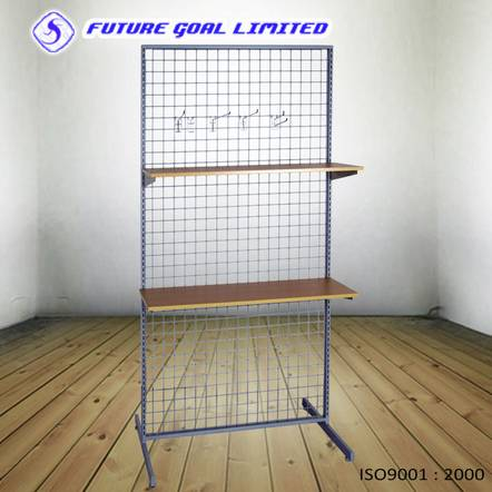 Powder Coating Accessories Rack / Metal Gridwall Fixture