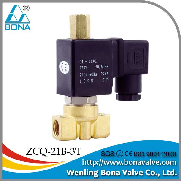 ZCQ-21B-3T coffee machine solenoid valve