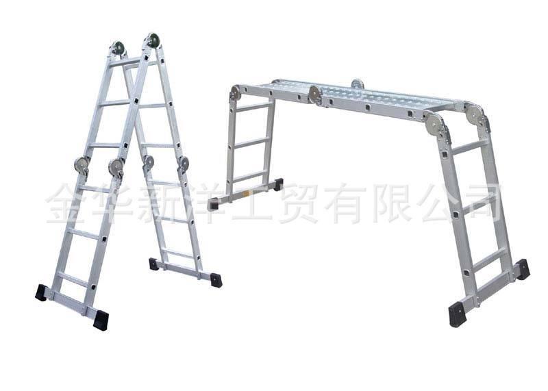 Multi-purpose aluminum ladder