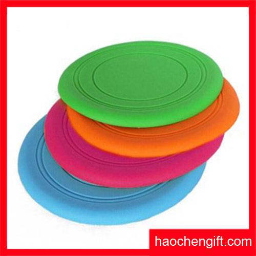 High Quality Soft Frisbee Silicone Dog Toy