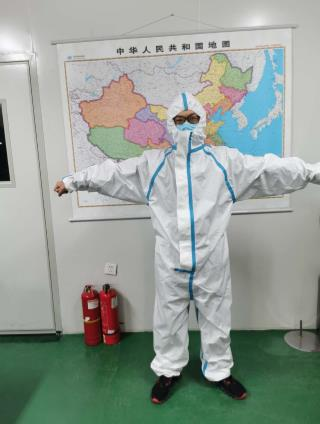 FDA CE Certified Sterile Protective Coverall Disposable Medical Protective Clothing