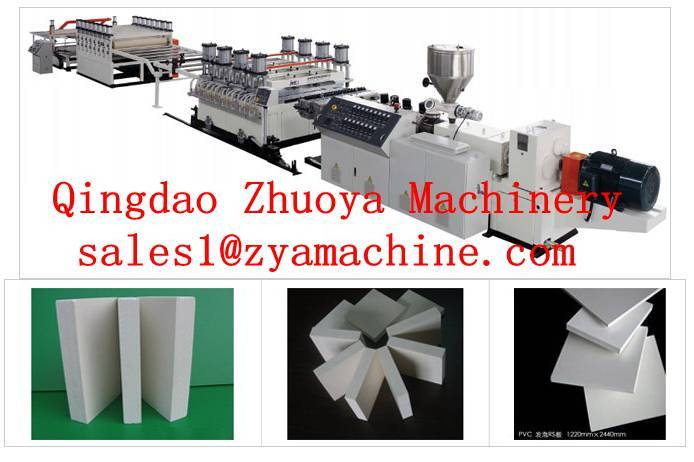 PVC Plastic Formwork Machine for Construction