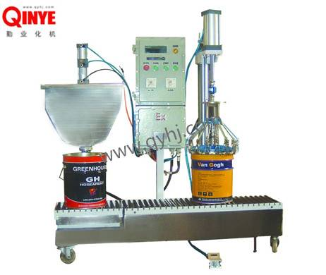 Weighing-Automatic Liquid Filling Machine