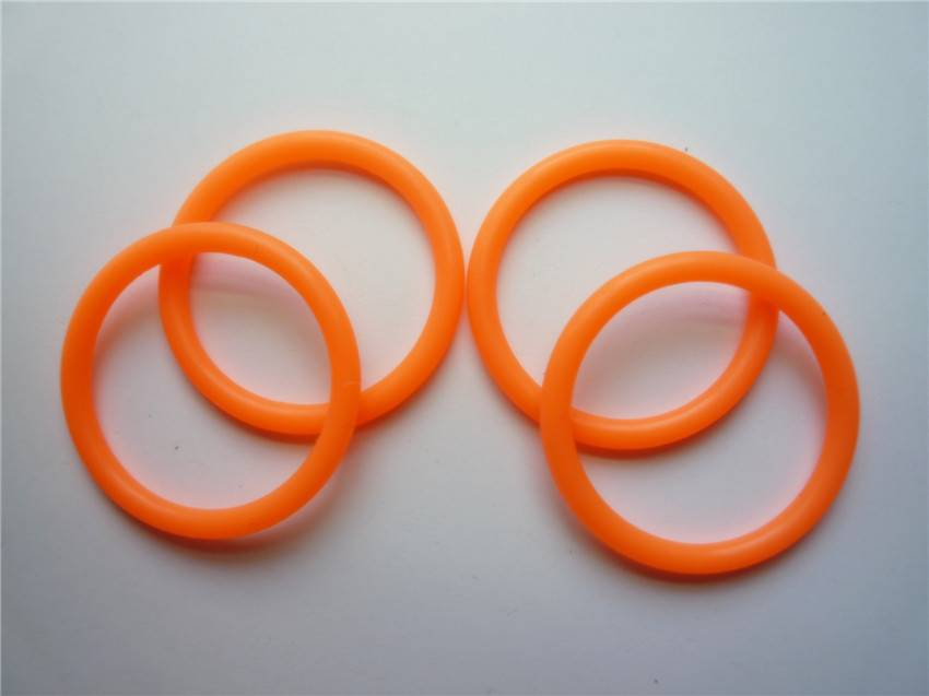 Orange O Ring/Silicone O Ring/ Rubber Seal Ring