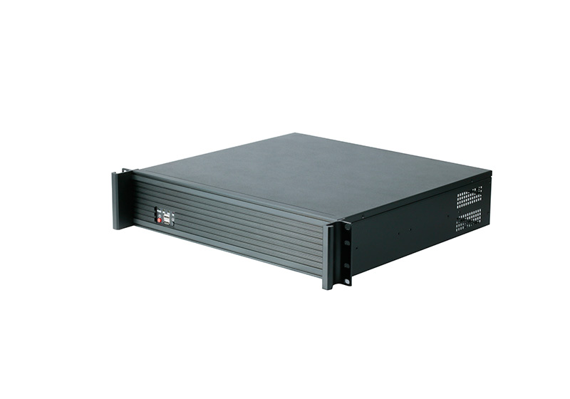 2U 19 inch network case industrial chassis server wallmount case