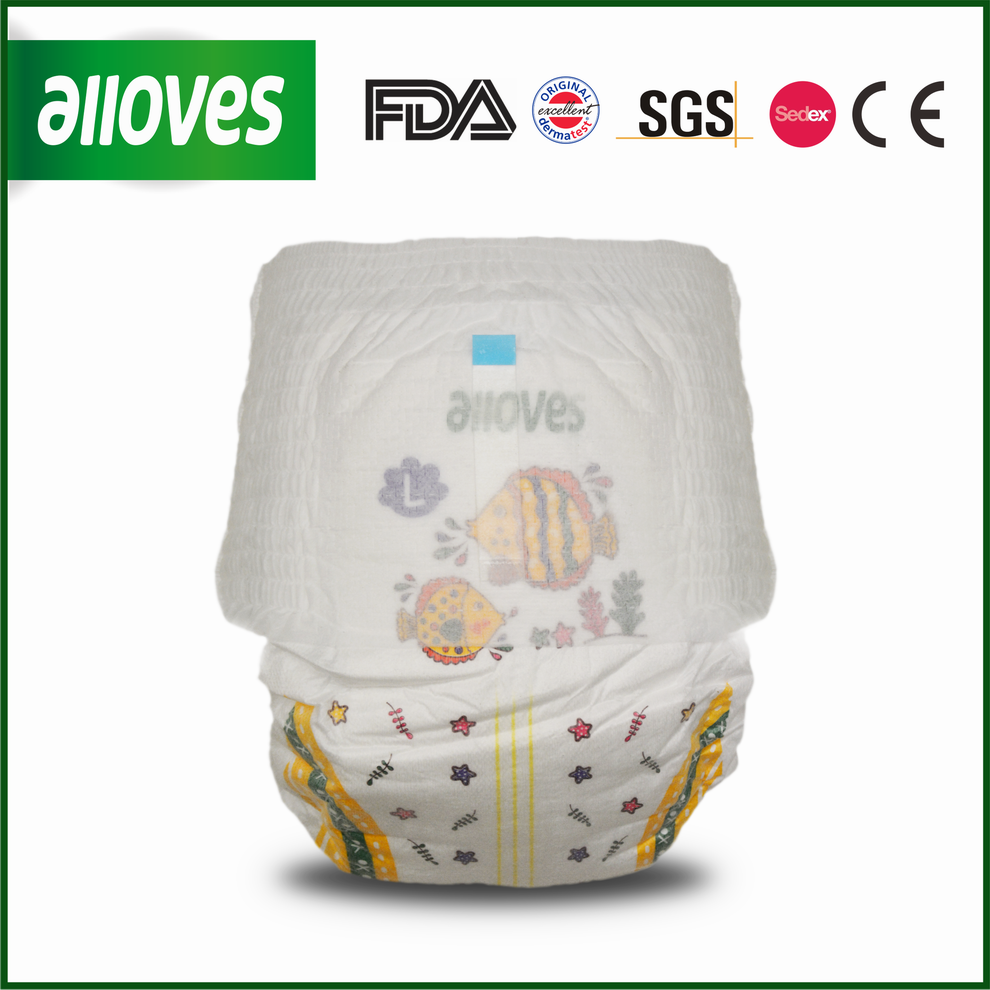 Alloves breathable soft baby pants for active babies